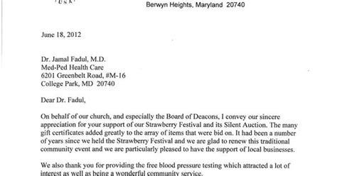 appreciation letter to church volunteer berwyn prebyterian church appreciation letter for