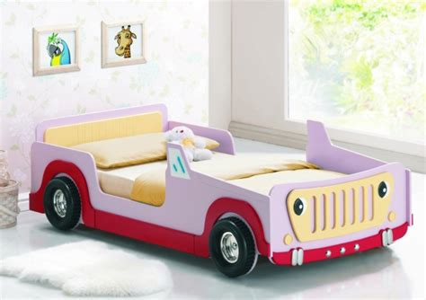 pink jeep bed joseph 3ft single pink jeep bed frame girls kids cheap