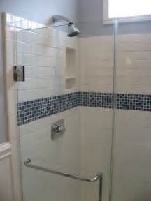 Glass Subway Tile Bathroom Ideas by Best 25 Glass Tile Shower Ideas On Pinterest