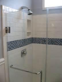 glass subway tile bathroom ideas best 25 glass tile shower ideas on pinterest