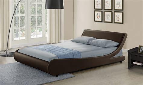 curved bed frame galactic curved bed frame 245 99 with mattress from