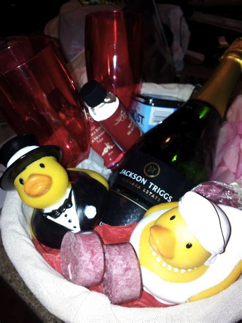 Wedding Night Gift Basket for the Bride & Groom   Wedding
