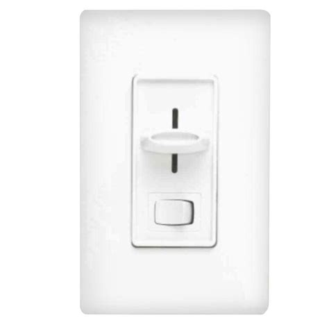 3 way dimmer switch white led decora dimmer switch single