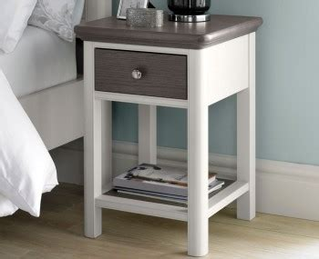 neve soft grey and weathered bedside tables bedside cabinets nightstands chests
