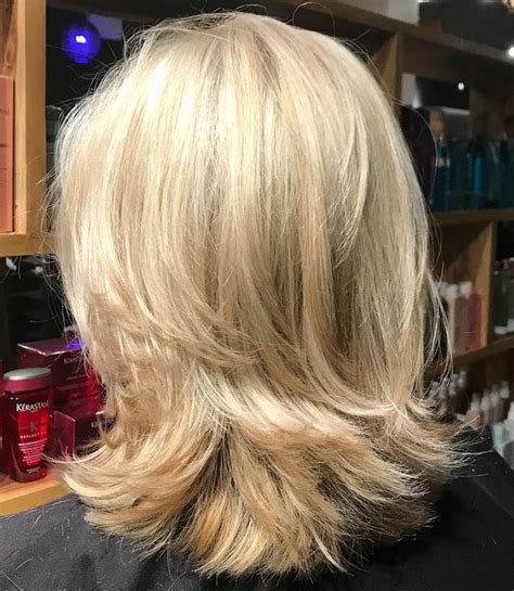 shoulder length hair with layers at bottom 54 best hair medium length images on pinterest hair
