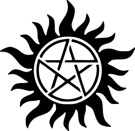 supernatural anti possession tattoo supernatural anti possession symbol by scoomus on deviantart