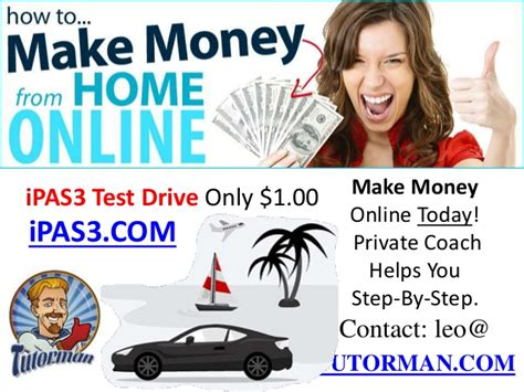 make money from home with i pas3 ipas3 system