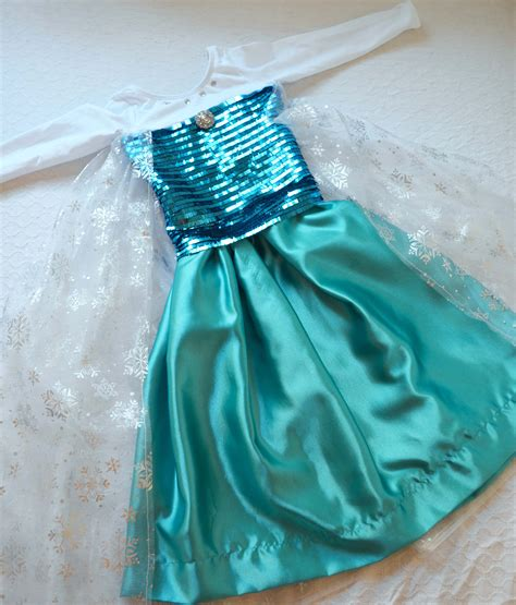 Elsa Costume Handmade - disney frozen preview elsa costume tutorial
