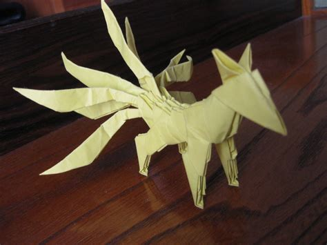 3d Origami Fox - pin by shane atwell on origami