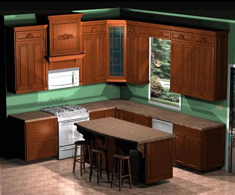 kitchen cabinets online design best small kitchen layouts decobizz com