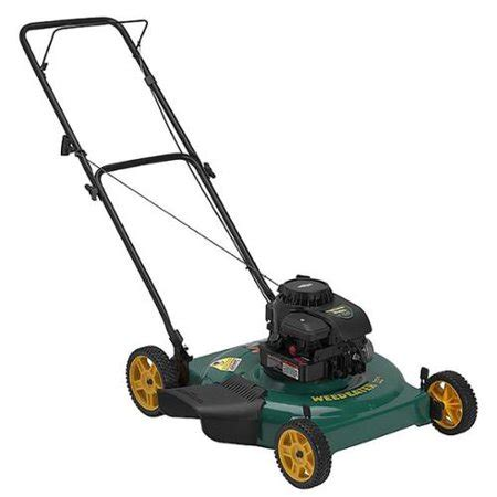 weed eater 22 inch cutting width push discharge or mulch gas lawn mower sd550s walmart com