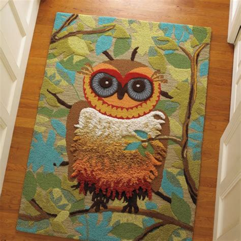 owl rugs for my owl barn give a hoot rug