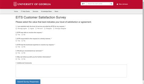 uga eits help desk eits customer satisfaction survey help desk support hds