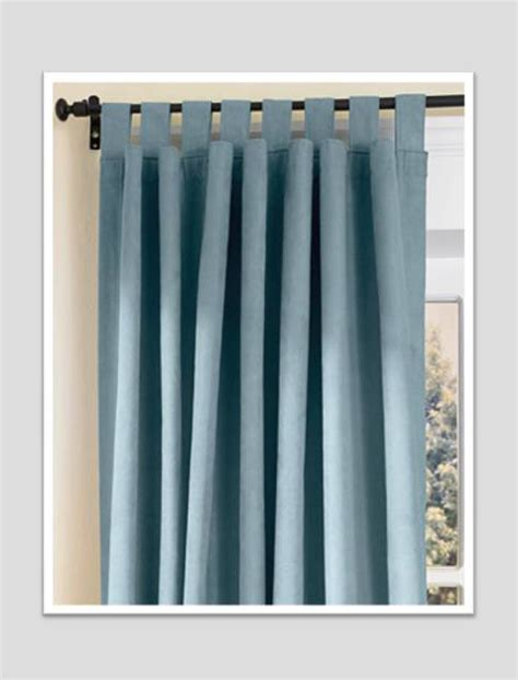 curtains with loops at top symphonycurtains com
