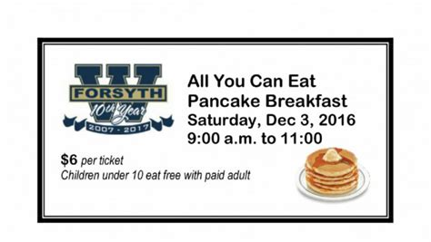 pancake breakfast ticket template wfhs boys basketball pancake breakfast this is the home