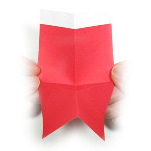 Origami Boot - how to make a 2d origami boot of santa claus page 7
