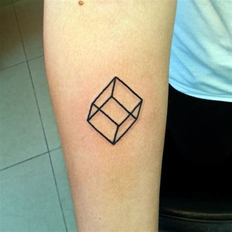 cube tattoo 14 best rainbow images on rainbow