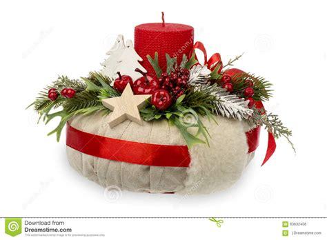composizione di candele decorazione di natale composizione in natale fatta dalla
