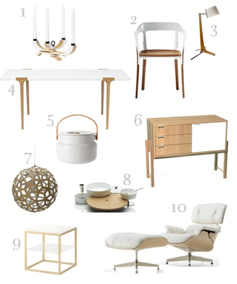 white and wood furniture accessories stylecarrot