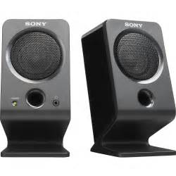 No Volume Tv Speakers Are Mitsubishi Sony Srs A3 External Pc Speakers Srsa3 B H Photo