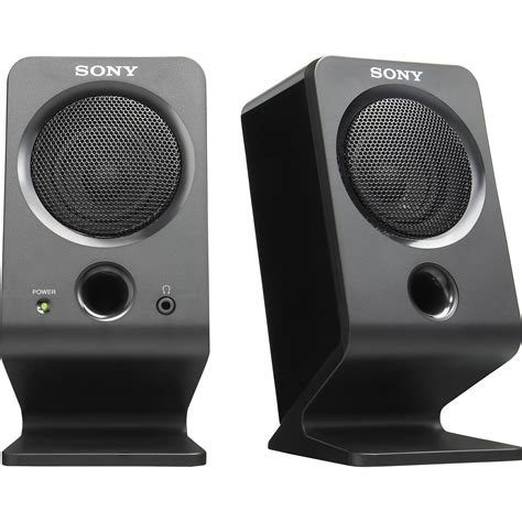 Speaker Komputer sony srs a3 external pc speakers srsa3 b h photo