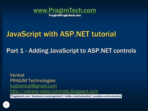 tutorial javascript in html sql server net and c video tutorial adding javascript