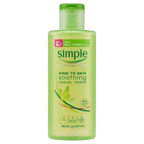 Toner Simple Simple Soothing Skin Toner Reviews Photos Ingredients