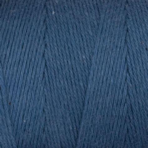 cotton rug warp cotton carpet warp 8 4 yarn color 128 brand color 6smokeyblue halcyon yarn