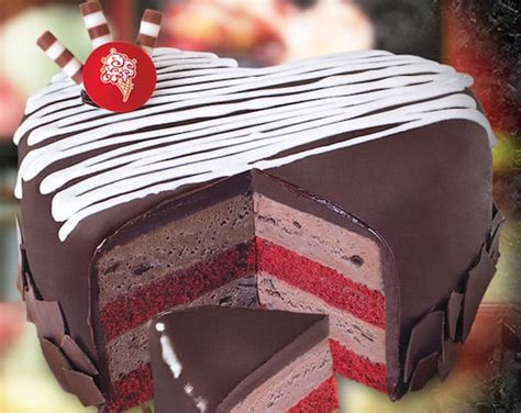 cold creamery valentines cake cold cakes review