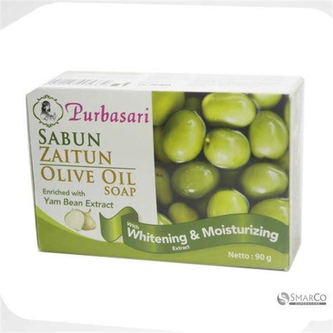 detil produk purbasari sabun bengkoang minyak zaitun