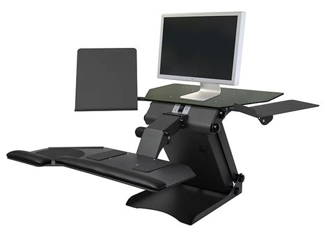 ergonomic sit stand desk sit and stand desk for productive work review and photo