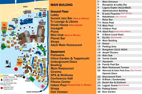 belek resort hotel map voyage belek spa hotel picture gallery voyage hotels