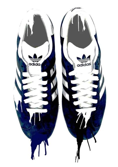 adidas gazelle artwork
