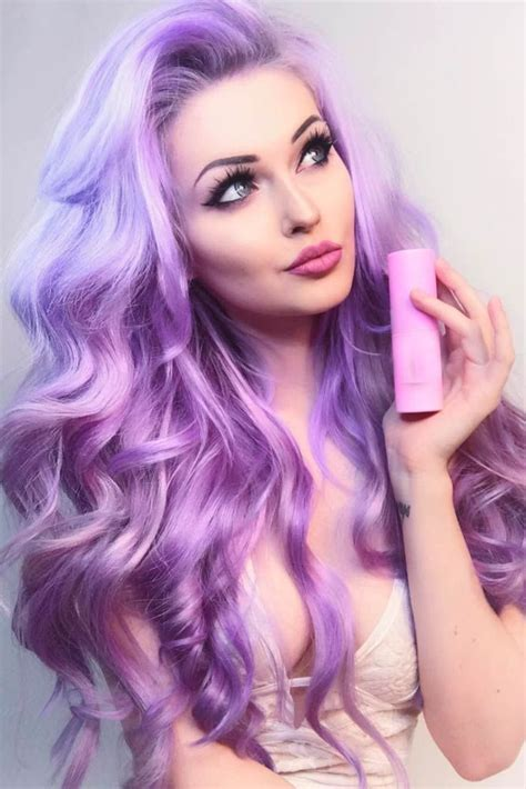 violet hair color 24 inspiring purple hair color ideas violet