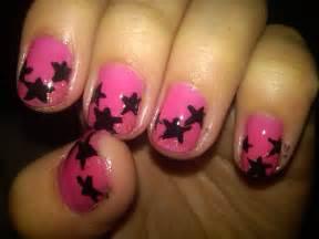 Black and pink nail designs cute nail designs pink cute pink nail
