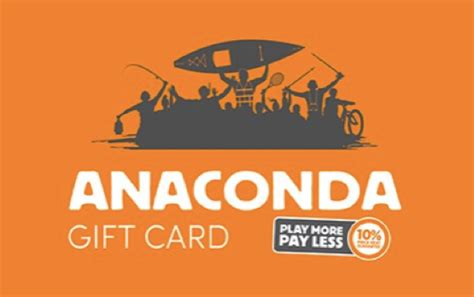 Anaconda Gift Card - anaconda egift card posconsole