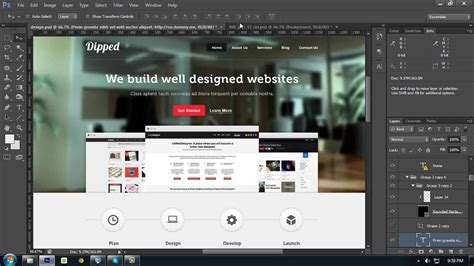 website layout creator online how to create a website layout with photoshop from