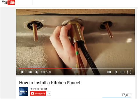 how do you install a kitchen faucet tools tighten 1 1 2 nut the sink home