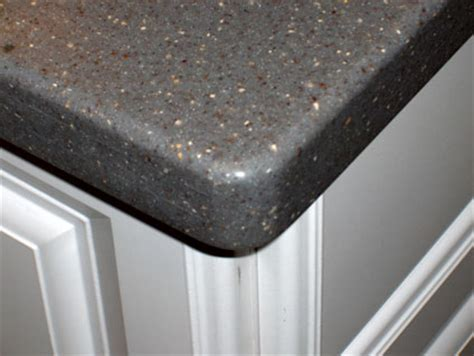 Grey Corian Countertops by One Solid Surface Countertops