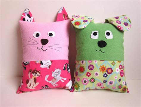 stuffed cat pillow cat tooth pillow pattern by myfunnybuddy craftsy
