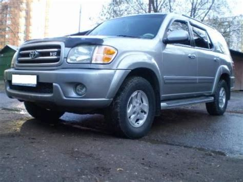 2002 Toyota Sequoia Problems 2002 Toyota Sequoia Pics 4 7 Fr Or Rr Automatic For Sale