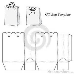 Gift Bag Template by Interesting Gift Bag Template Template Box Bag