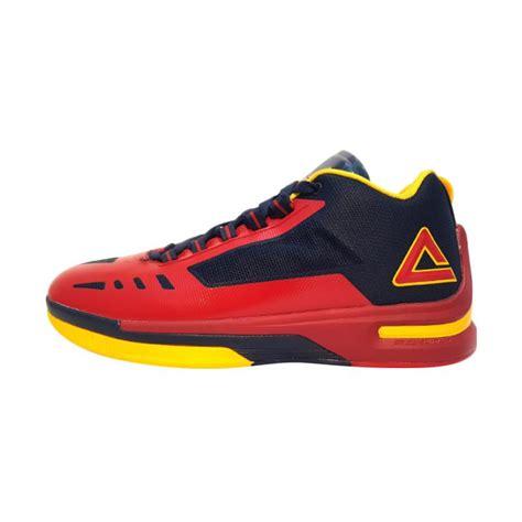 Sepatu Basket Peak Raptor jual peak soaring 2 8 sepatu basket pria army blue e61021a harga kualitas