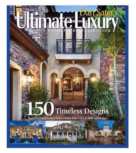 luxury home design books new ultimate luxury home plans book sater design collection