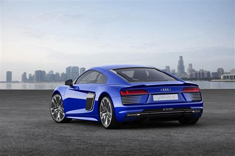Audi R8 Concept by Self Driving Audi R8 E Tron Concept Unveiled I Robot Rsq