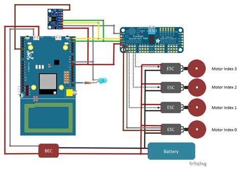 quadcopter motor wiring diagram wiring diagram