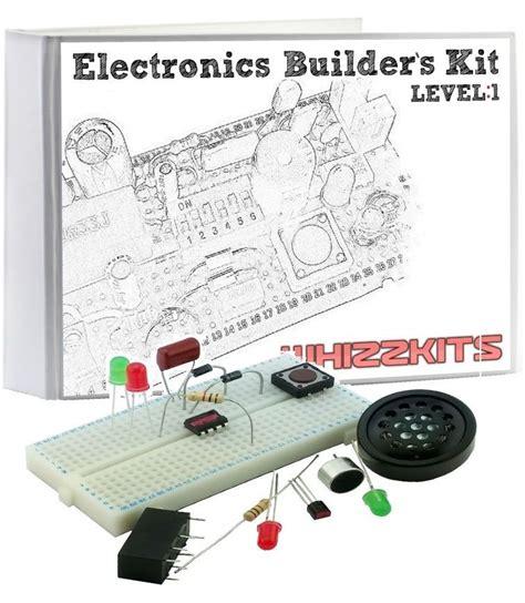 project kits whizzkits breadboard electronics beginners project starter