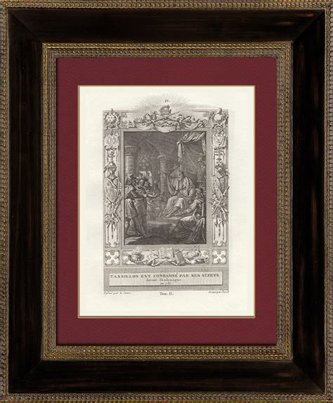 Moulure Plafond 787 by Gravures Anciennes Tassilon Iii De Bavi 232 Re Graci 233 Par
