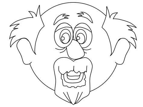 grandparents 8 characters printable coloring pages