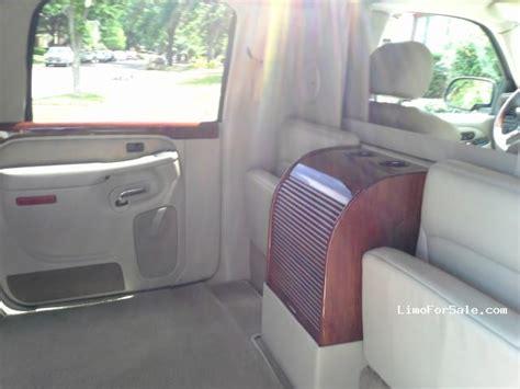 how to fix cars 2005 cadillac escalade interior used 2005 cadillac escalade esv suv limo lcw dallas texas 50 000 limo for sale